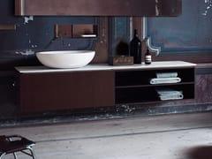 Mobile lavabo sospeso con cassettiFLAT XL   Mobile lavabo - AGAPE