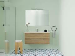 Mobile lavabo singolo sospeso con cassettiMOX | Mobile lavabo - ALPEMADRE