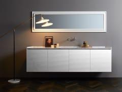 Mobile lavabo laccato sospeso con cassetti DONGIOVANNI | Mobile lavabo - Dongiovanni