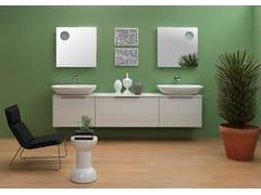 Mobile lavabo sospeso con cassettiBOX | Mobile lavabo - CERAMICA FLAMINIA
