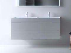 Mobile lavabo doppio con cassettiQUATTRO.ZERO | Mobile lavabo doppio - FALPER