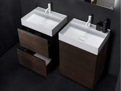 Mobile lavabo in legno con cassetti PURE | Mobile lavabo doppio - Pure