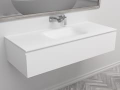 Mobile lavabo singolo sospeso con cassettiNEVADA | Mobile lavabo singolo - RILUXA