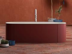 Vasca da bagno centro stanza ovale in Solid SurfaceBLONDECRAZY | Vasca da bagno - KAROL ITALIA