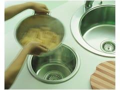 Lavello a una vasca da incasso in acciaio inoxLavello in acciaio inox - ALPES-INOX