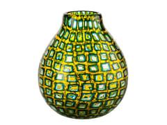 Vaso fatto a mano in vetro soffiatoMURRINE ROMANE | Vaso - VENINI