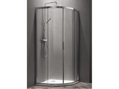 Box doccia semicircolare con porta scorrevole VEGA | Box doccia semicircolare - Vega