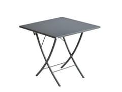 Tavolo da giardino pieghevole quadrato in metalloVEGAS | Tavolo quadrato - VERMOBIL