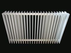 Scaldasalviette in acciaio verniciato a polvere a pareteVELA 50 D - GEBER RADIATORI