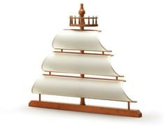 Testiera in legno per letto singoloVELA | Testiera per letto singolo - CAROTI & CO.
