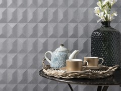 Piastrelle con superficie tridimensionale effetto cementoVELA THAITI - VENIS - PORCELANOSA GRUPO