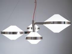 Lampada a sospensione a LED in vetro soffiatoVELASCA 01 - PATRIZIA GARGANTI