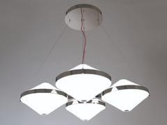 Lampada a sospensione a LED in vetro soffiatoVELASCA 02 - PATRIZIA GARGANTI