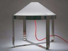Lampada da tavolo a LED in vetro soffiato e metalloVELASCA 11 - PATRIZIA GARGANTI