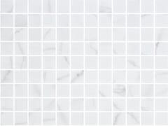 Mosaico in vetro per interni ed esterniVENATO WHITE MATTE - ONIX CERÁMICA