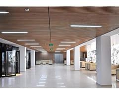 HunterDouglas Architectural, GRIGLIATO IMPIALLACCIATO LEGNO Grigliato in legno impiallacciato