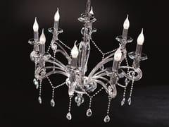 Lampadario con cristalli Swarovski® VENERE L8 - Venere