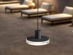 Lampada a sospensione per esterno in alluminio e vetroVENEXIA | Lampada a sospensione per esterno - PANZERI