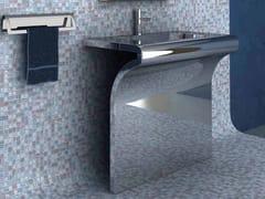 Lavabo rettangolare in acciaio inoxVENTI | Lavabo in acciaio inox - COMPONENDO