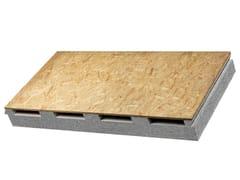 Isolconfort, VENTIL G Pannello isolante per tetti ventilati in EPS Neopor con OSB