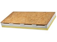Isolante termo-acustico per tetti ventilati con cartongesso VENTIL PHONO GIPS -