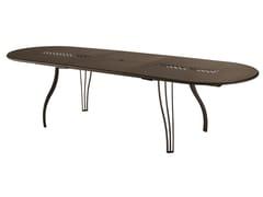 Tavolo allungabile ovale VERA - Vera