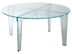Tavolino rotondo in vetroVERMET | Tavolino rotondo - ROCHE BOBOIS