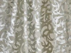 Tessuto dipinto a mano in linoVERNISSAGE - DEDAR