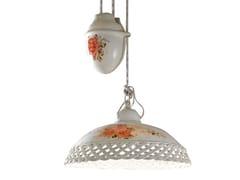 Lampada a sospensione regolabile in ceramicaVERONA | Lampada a sospensione regolabile - FERROLUCE