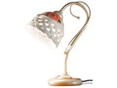 Lampada da comodino in ceramica con braccio fissoVERONA | Lampada da comodino - FERROLUCE