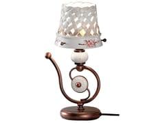Lampada da comodino in ceramicaVERONA | Lampada da comodino in ceramica - FERROLUCE