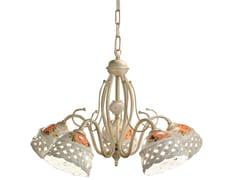 Lampadario in ceramicaVERONA | Lampadario a luce diretta - FERROLUCE