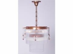 Lampadario a luce diretta fatta a mano in ottone VERSAILLES II | Lampada a sospensione - Versailles