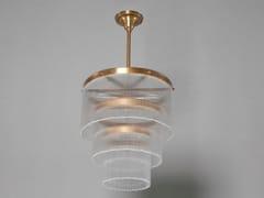 Lampadario a luce diretta fatta a mano in ottone VERSAILLES III | Lampada a sospensione in ottone - Versailles