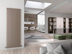 Termoarredo verticale in acciaio a parete PIANO | Termoarredo verticale - Piano