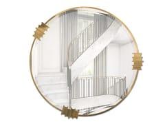 Specchio rotondo con cornice da pareteVERTIGO | Specchio - LUXXU