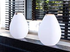 Lampada da tavolo per esterno a LED in plastica con sistema RGBVESSEL | Lampada da tavolo a LED - SMART AND GREEN