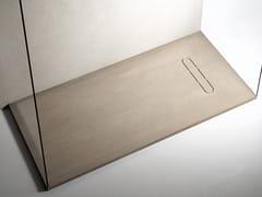 Piatto doccia antiscivolo incassato in Texolid®VESUVIUS | Piatto doccia incassato - RELAX DESIGN