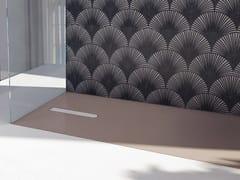 Piatto doccia antiscivolo filo pavimento in Luxolid®VESUVIUS SOLID | Piatto doccia filo pavimento - RELAX DESIGN