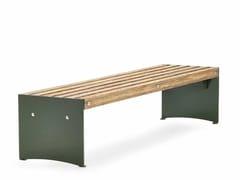 VESTRE, VIA | Panchina in acciaio e legno  Panchina in acciaio e legno