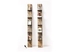 Libreria / portabottiglie in abeteVIAN - VONTREE