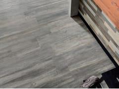 Pavimento/rivestimento in gres porcellanato effetto legnoVIBE CINDER - CERAMICHE CAESAR