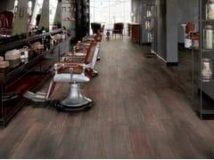 Pavimento/rivestimento in gres porcellanato effetto legnoVIBE MARSALA - CERAMICHE CAESAR
