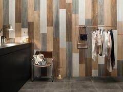 Pavimento/rivestimento in gres porcellanato effetto legnoVIBE WOOD MIX - CERAMICHE CAESAR