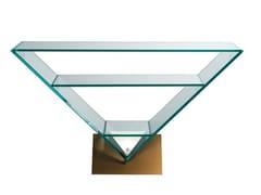 Consolle rettangolare in vetro con ripianiVICTOIRE - ROCHE BOBOIS