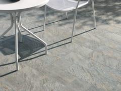 Pavimento per esterni in gres porcellanato effetto pietraVIE DELLA PIETRA QUARZITE - CERAMICHE MARCA CORONA