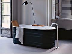 Vasca da bagno centro stanza ovale in acciaioVIEQUES | Vasca da bagno - AGAPE