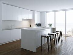 Top cucina in ceramica sinterizzata effetto cementoVILLAGE | Top cucina in ceramica sinterizzata - ITT CERAMIC