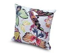 Cuscino in panama stampa farfalleVILLAHERMOSA - MISSONI HOME