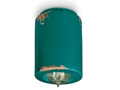 Faretto rotondo in ceramica a soffittoVINTAGE | Faretto rotondo - FERROLUCE
